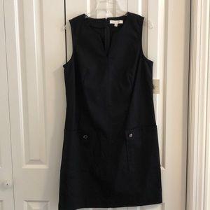NWT Tracy Ellen size 12 black cotton dress/pockets